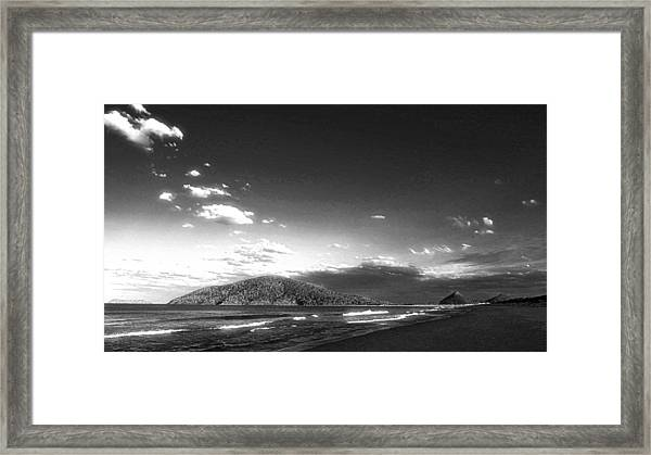Seascape Northern Nsw Framed Print