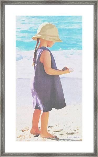 Seaside Treasures Framed Print