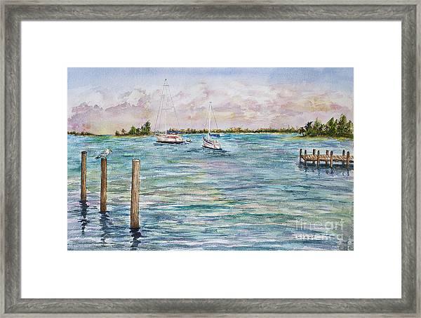 Sebastian Marina Framed Print