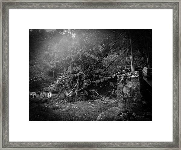 Second-hand Bridge Framed Print