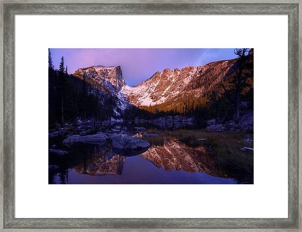 Second Light Framed Print