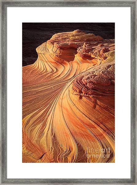 Second Wave Flow Framed Print
