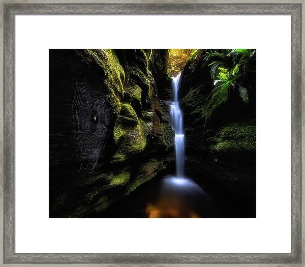 Secret Falls Framed Print