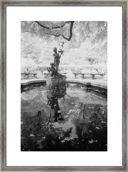 Secret Garden Ir Framed Print