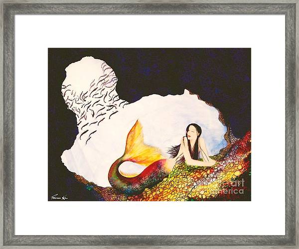 Secret Hideaway Framed Print