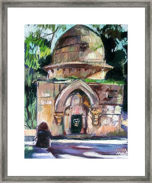 Secret Jerusalem Temple Framed Print
