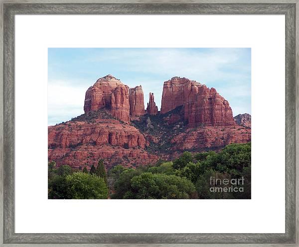 Sedona 7 Framed Print