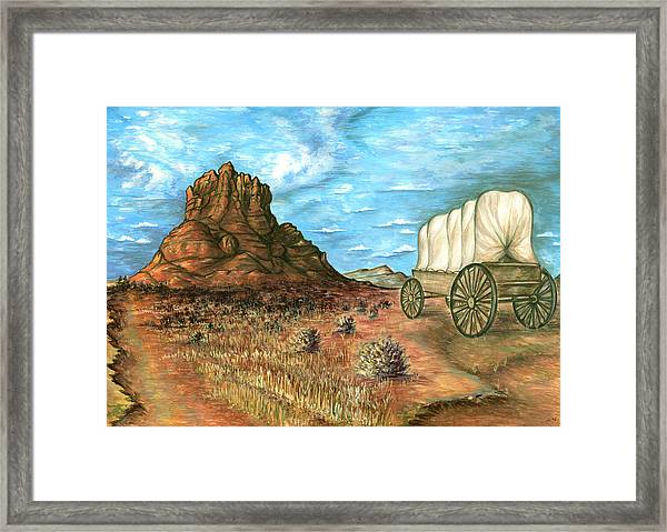 Sedona Arizona - Western Art Painting Framed Print