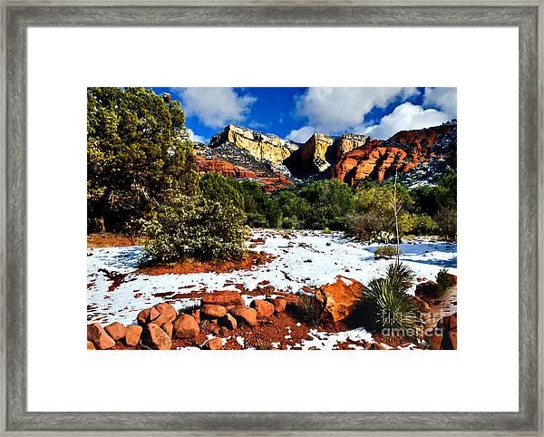 Sedona Arizona - Wilderness Framed Print