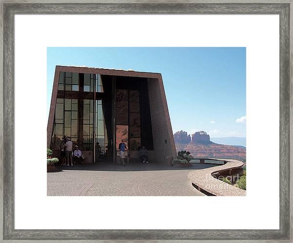 Sedona Chapel 2 Framed Print