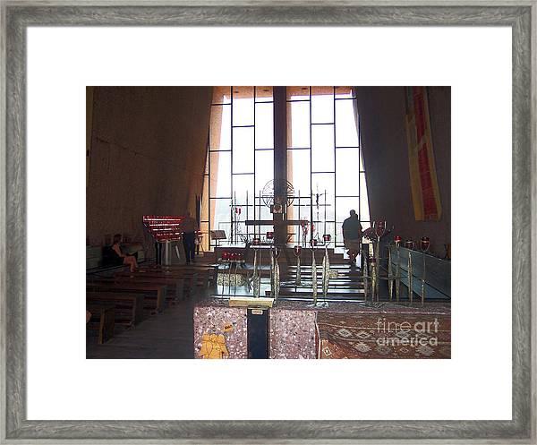 Sedona Chapel 3 Framed Print