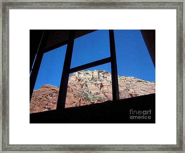 Sedona Chapel 4 Framed Print