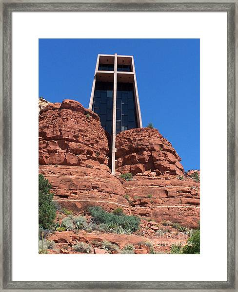 Sedona Chapel 5 Framed Print