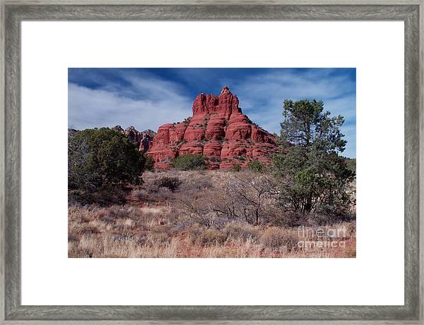 Sedona Red Rock Formations Framed Print