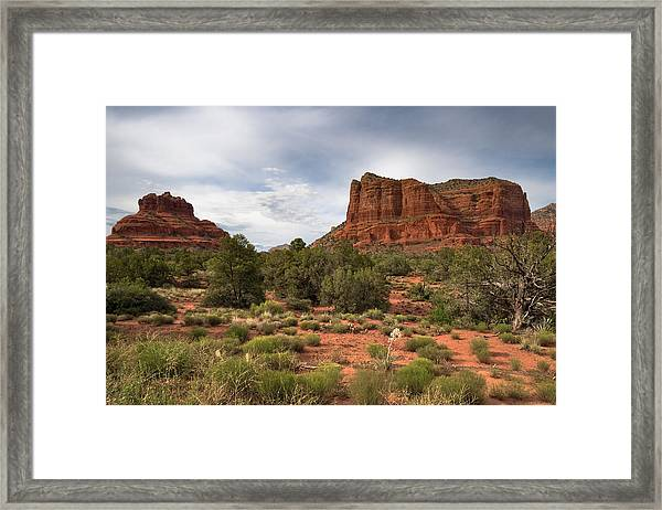 Sedona Red Rocks Framed Print