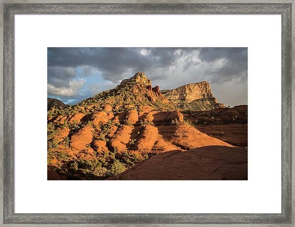 Sedona Sunset Framed Print