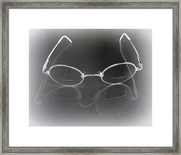 See Things My Way Framed Print