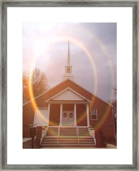 Seeing The Light Framed Print