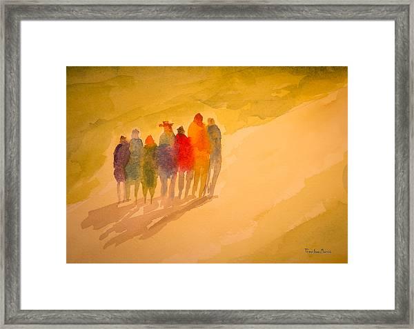 Seekers I Framed Print