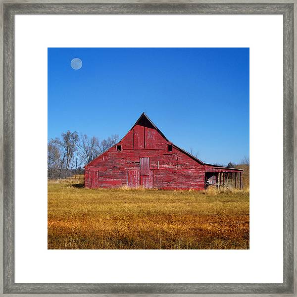 Seen Many Moons Framed Print