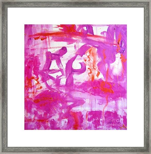 Self-love Framed Print