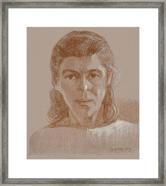 Self Portrait 1990 Framed Print