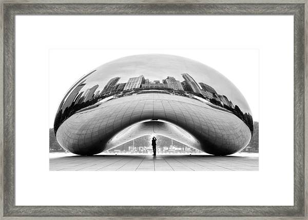 Selfie Framed Print by Louis-philippe Provost