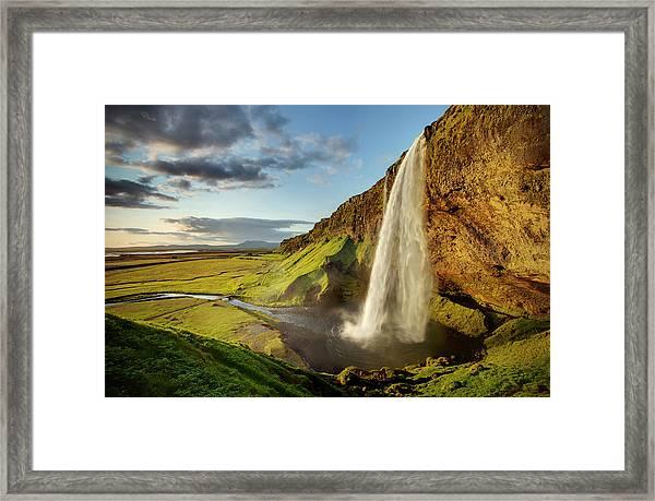 Seljalandsfoss Iceland Framed Print