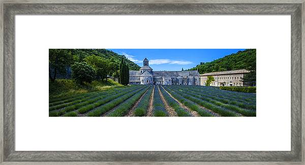 Senaque Abbey - Provence Framed Print