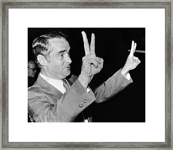 Senator Thomas Eagleton Framed Print