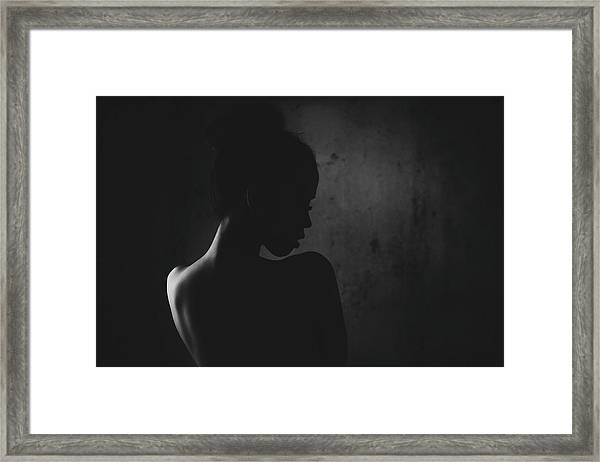 Sensual Connection Framed Print
