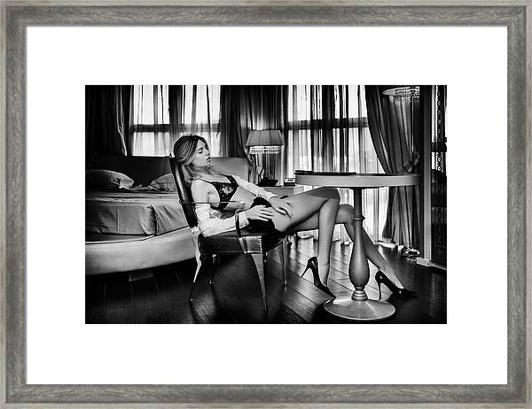 Sensual... Framed Print