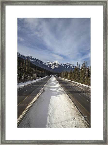Separate Ways Framed Print