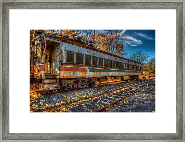 Framed Print featuring the photograph Septa 9125 by William Jobes