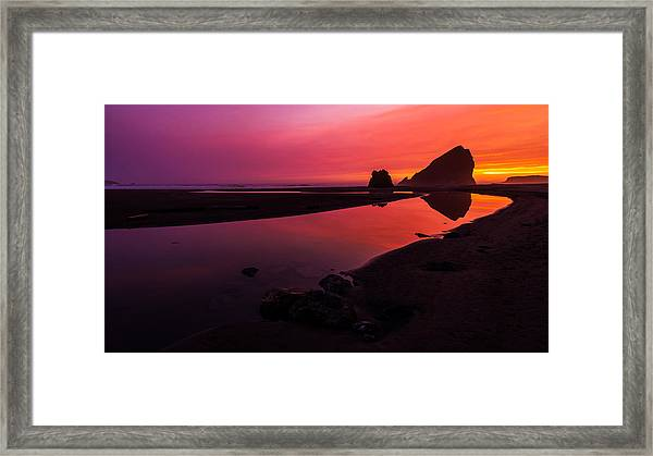 Serenade Flow Framed Print