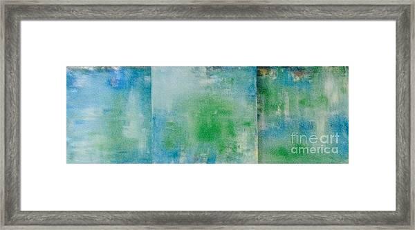 Serenity Framed Print by Bebe Brookman