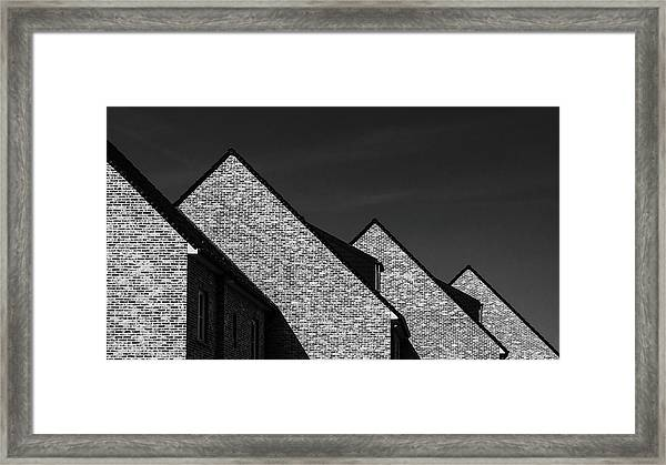 Serial Work Framed Print