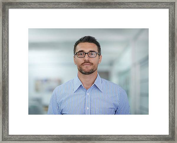 Serious About My Career Framed Print by PeopleImages