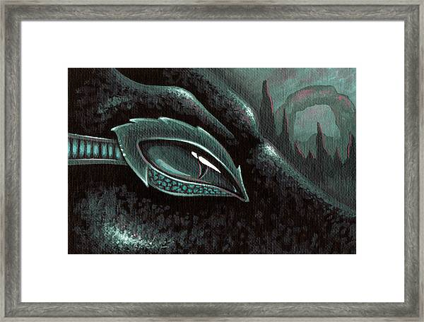 Serpent Of The Coral Gardens Framed Print