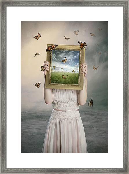 Set Them Free Framed Print