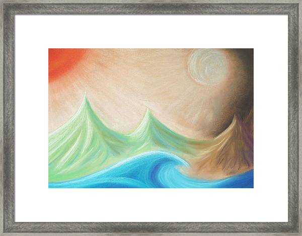 Seven Days Of Creation - The Fourth Day Framed Print