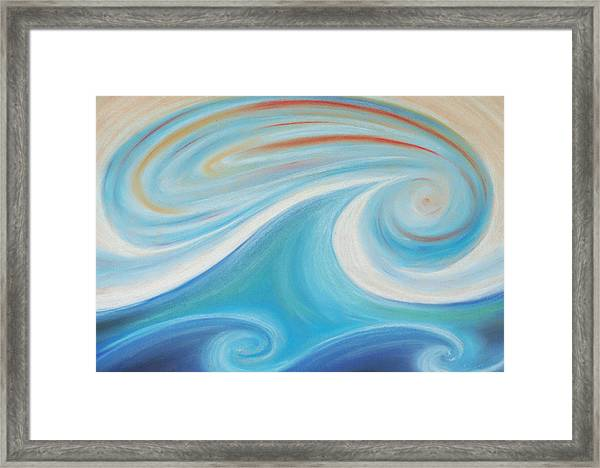 Seven Days Of Creation - The Second Day Framed Print