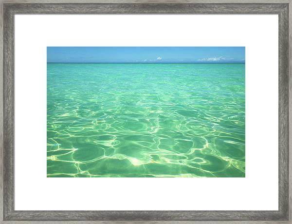 Seven Mile Beach, Negril, Jamaica Framed Print