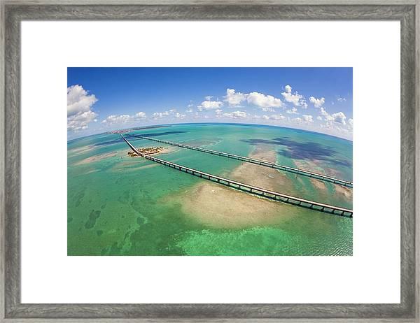 Seven Mile Bridge Framed Print