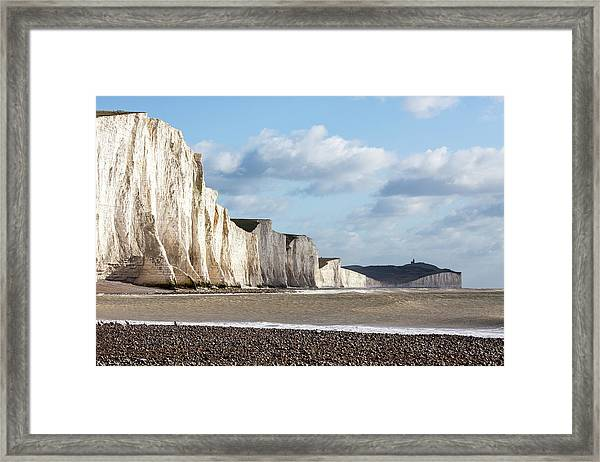 Seven Sisters Cliffs Framed Print