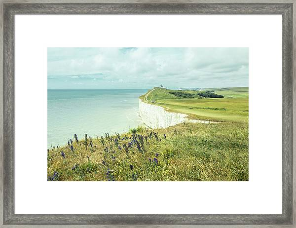 Seven Sisters, East Sussex, England Framed Print