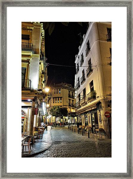 Seville Nights Framed Print