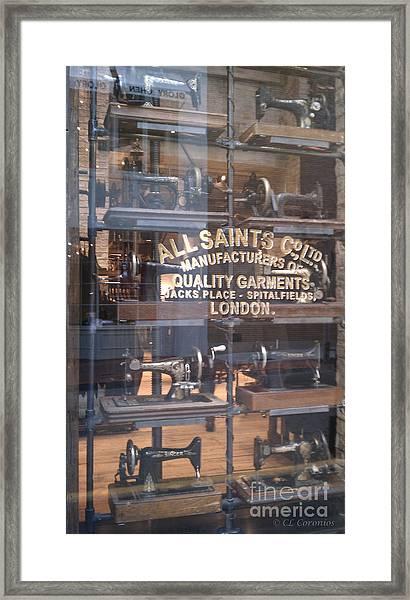 Sew What Framed Print