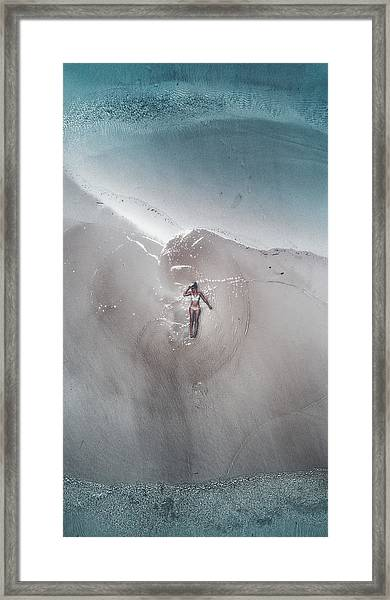Seychelles - Mermaid Framed Print