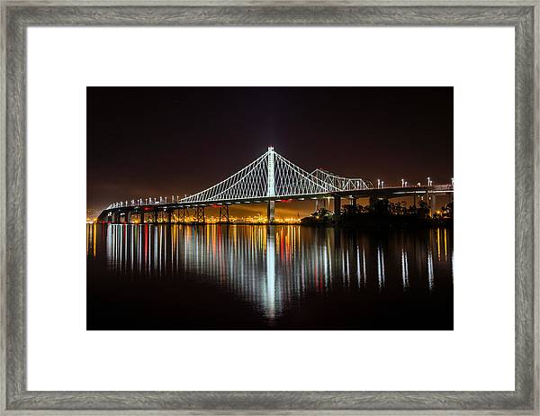 Sf Bay Bridge Framed Print